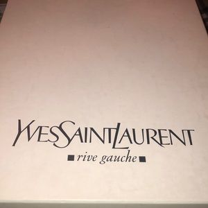 Ysl worn for a photo shoot